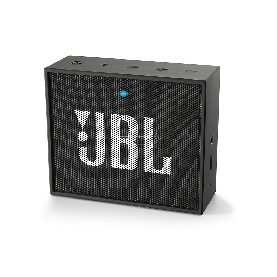 wireless portable speaker go jbl jblgoblk. Black Bedroom Furniture Sets. Home Design Ideas