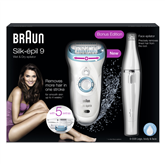 Epilators Silk-épil 9 + epilators sejai, Braun