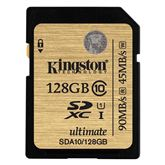 Atmiņas karte SDHC/SDXC Class 10 UHS-I, Kingston / 128GB