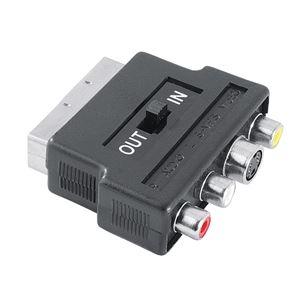 Scart-3RCA/SVide adapteris, Hama