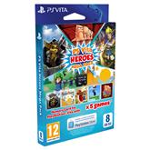 Atmiņas karte priekš PS Vita 8 GB + Heroes Mega Pack, Sony