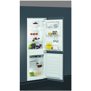Iebūvējams ledusskapis, Whirlpool / augstums: 158 cm
