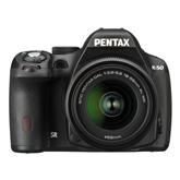 DSLR K-50 + DA 18-55mm F3,5-5,6 AL WR lens, Pentax