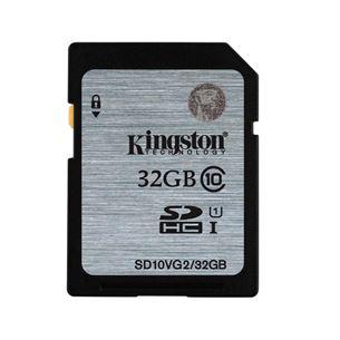 Atmiņas karte SDHC 32GB, Kingston / 10 klase