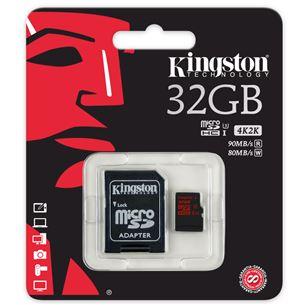 Atmiņas karte microSD, Kingston / 32GB