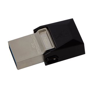 USB zibatmiņa DT MicroDuo, Kingston / 16GB