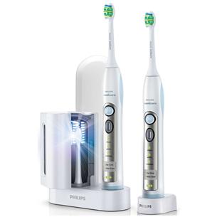 Elektriskā zobu birste Flexcare Sonic + uzgaļa UV tīrītājs, Philips