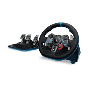 Spēļu kontrolieris stūre G29 priekš PS3 / PS4 / PC, Logitech