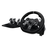 Spēļu kontrolieris stūre G920 priekš Xbox One / PC, Logitech