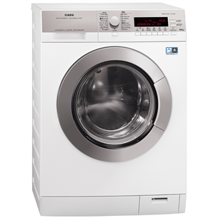 Veļas mazgājamā mašīna ar žāvētāju, AEG / 1600 apgr./min.