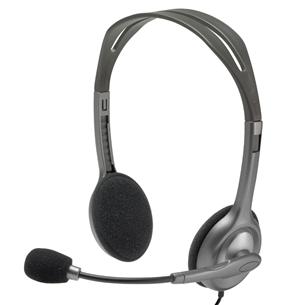 Austiņas ar mikrofonu H111, Logitech