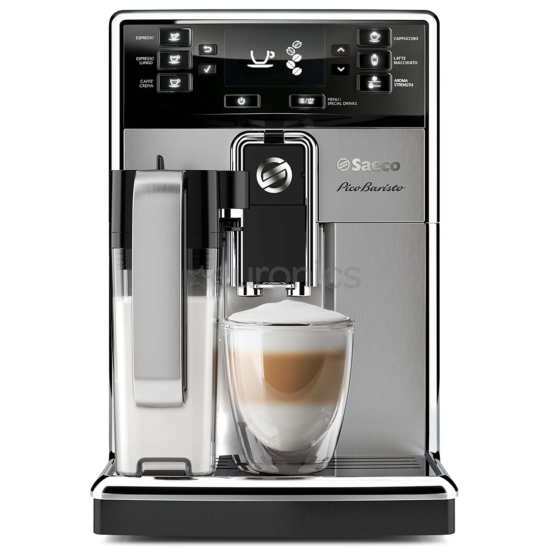 espresso machine saeco picobaristo philips hd8927 09. Black Bedroom Furniture Sets. Home Design Ideas