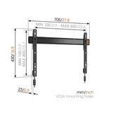 Настенное крепление для телевизора W50080 (40-100), Vogels