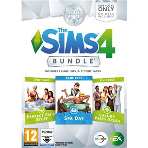 Spēle priekš PC The Sims 4 Bundle Pack