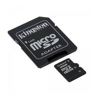 Atmiņas karte 16GB SDHC Class10, Kingston