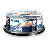 CD disks Philips 80min 25pcs