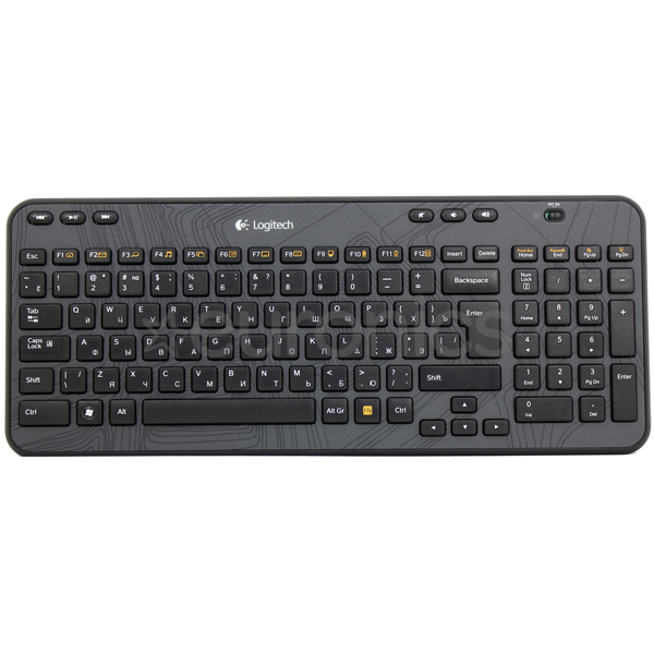 Wireless keyboard K360, Logitech / ENG, 920-003094