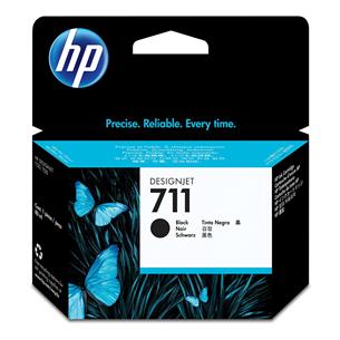 Tintes kārtridžs 711, HP / melna
