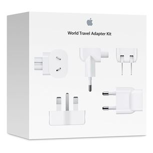 Ceļojuma adapteru komplekts World Travel Adapter Kit, Apple
