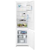 Iebūvējams ledusskapis FrostFree, Electrolux / augstums: 185 cm