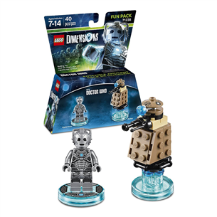 LEGO Dimensions Dr. Who Cyberman Fun Pack