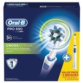 Elektriskā zobu birste Oral-B PRO690 Duo, Braun