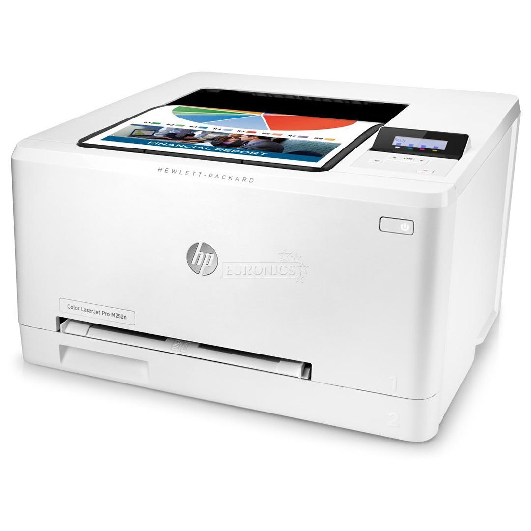 Color Laser Printer LaserJet Pro M252n HP B4A21AB19