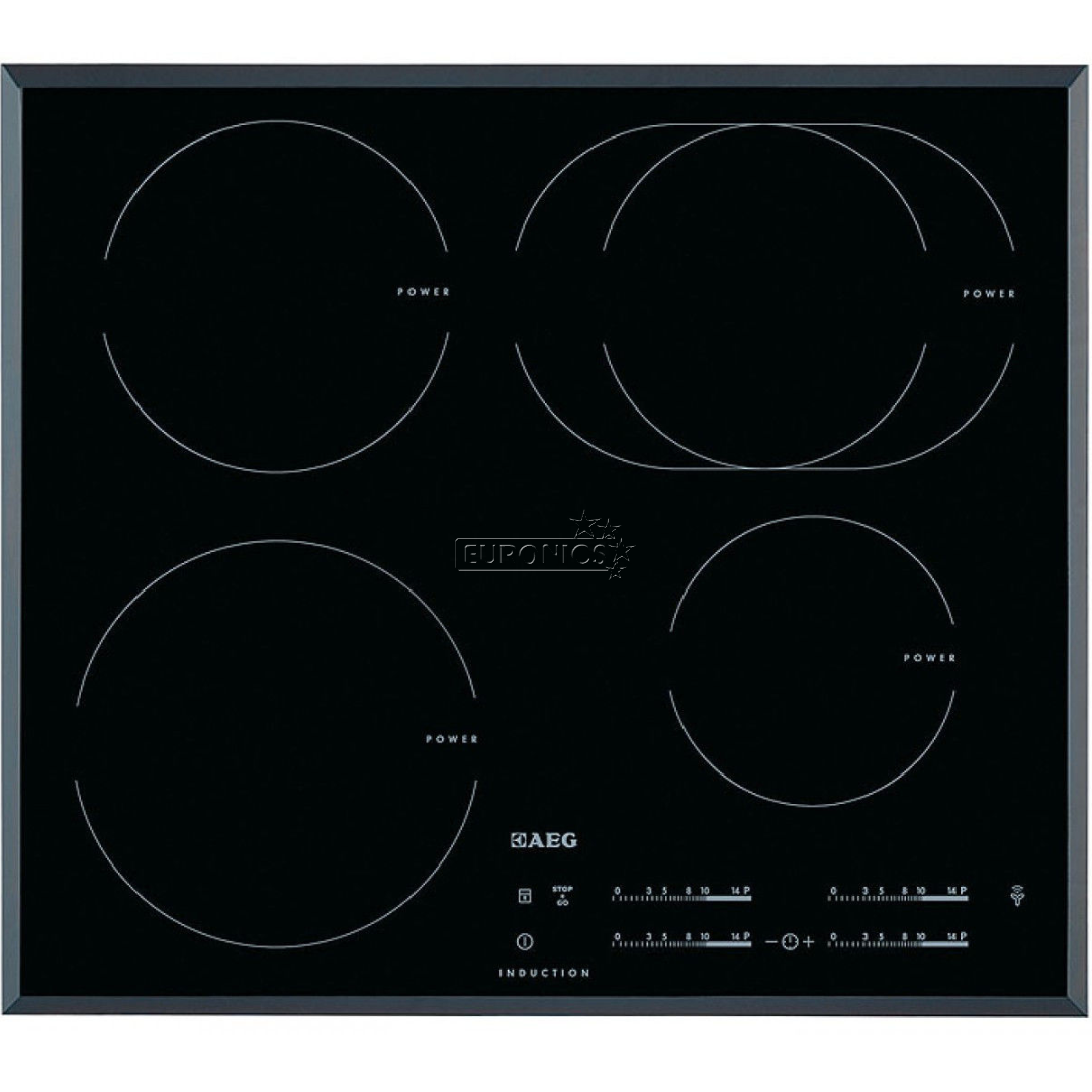 built in induction hob aeg hk6542h1fb. Black Bedroom Furniture Sets. Home Design Ideas