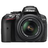 DSLR camera D5300 + AF-S DX NIKKOR 18-55mm VR lens, Nikon