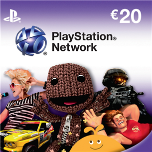 PlayStation Network Live Card, Sony / €20