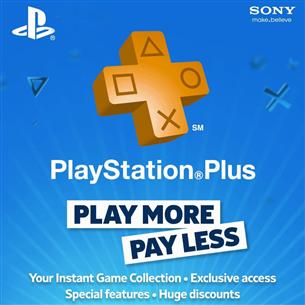 PlayStation Plus membership, Sony / 3 mēneši