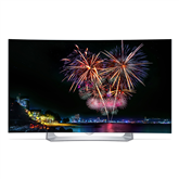 3D 55 curved Full HD OLED TV, LG