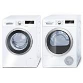 Veļas mazgājamā mašīna + žāvētājs, Bosch