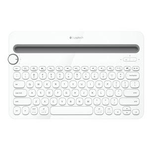 Bezvadu klaviatūra K480, Logitech / Bluetooth