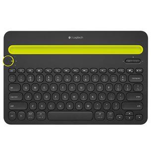 Bezvadu klaviatūra K480, Logitech / ENG