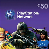 PlayStation Network Live Card, Sony / €50