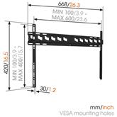 Настенное крепление для телевизора MA4000 (40-80), Vogels