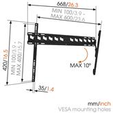 TV Wall Mount Vogels MA4010 (40-65)