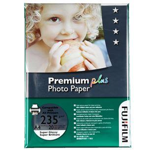 Fotopapīrs Premium Plus A4, 235g/m2, 20lpp, Fujifilm