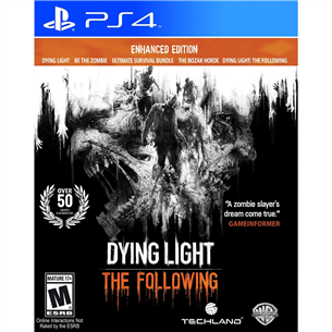 Spēle priekš PlayStation 4, Dying Light: The Following - Enhanced Edition