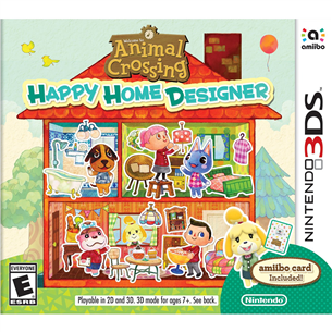 Spēle priekš 3DS, Animal Crossing: Happy Home Designer