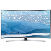 55 curved Ultra HD LED LCD televizors, Samsung