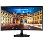 24 izliekts Full HD LED VA monitors, Samsung