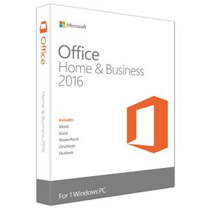 Microsoft Office 2016 Home&Business Eng