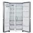 Side by side tipa ledusskapis, LG / augstums: 179 cm