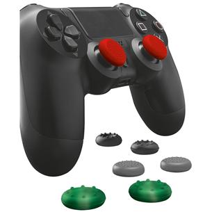 Silikona apvalks pogām priekš PS4 kontroliera , Trust / 8 gab