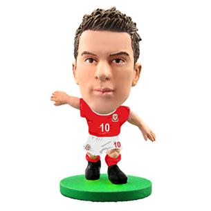 Statuete Aaron Ramsey Wales, SoccerStarz