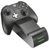 Зарядная подставка GXT 247 + аккумулятор для двоих игровых пультов Xbox One, Trust