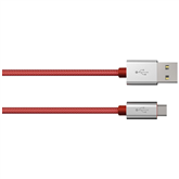 Vads Color Line micro USB -- USB, Hama / 1 m