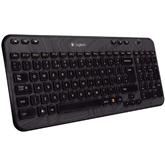 Bezvadu klaviatūra k360, Logitech / SWE